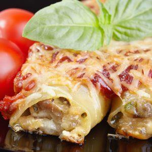 Cannelloni mit Pilzfüllung
