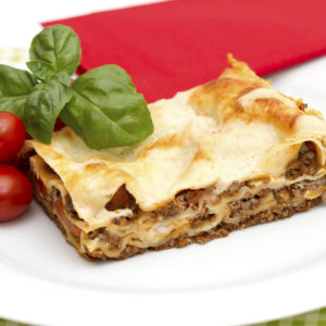 Lasagne mit Käse-Hack-Füllung