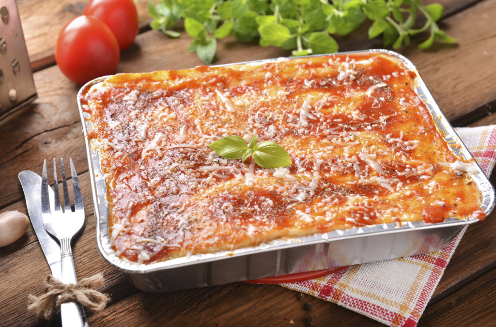 Tomaten-Paprika-Lasagne