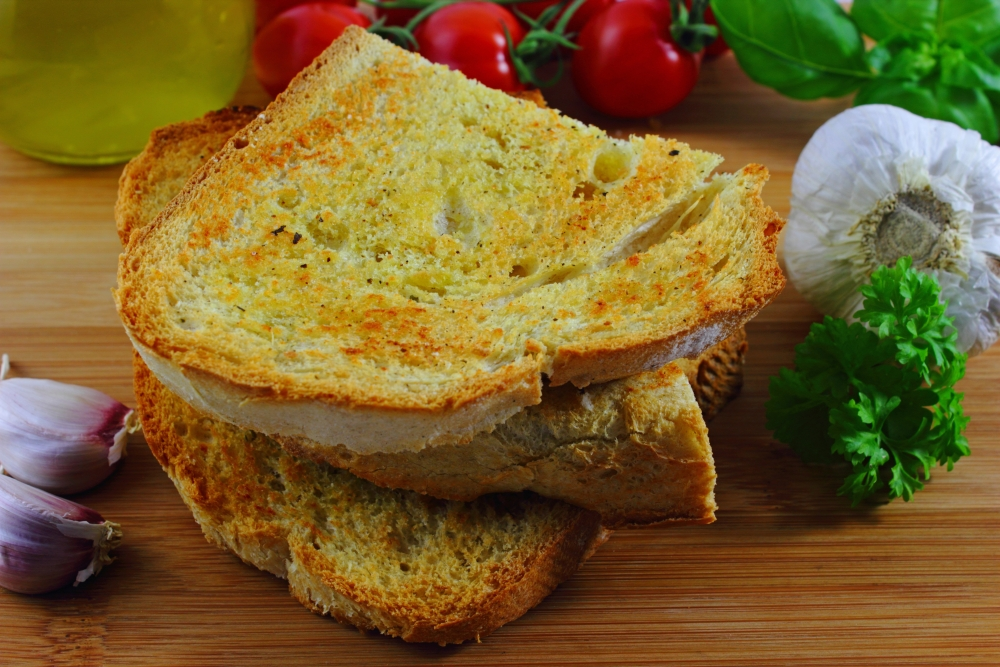 Crostini verde - grünes Knoblauchbrot