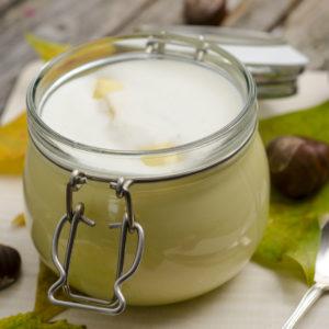 Maronencreme mit Sahne – Monte bianco