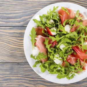 Mozzarella-Rucola-Salat