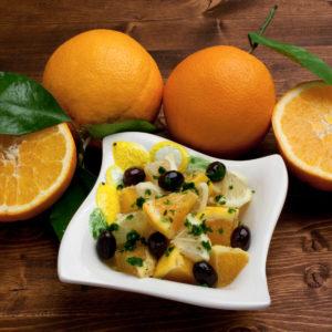Sizilianischer Orangensalat – Insalata di arance siciliana