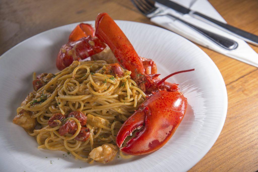 Spaghetti Aragosta - mit Hummerschwänzen