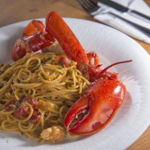 Spaghetti Aragosta – mit Hummerschwänzen