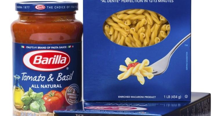 Das 1877 gegründete Unternehmen Barilla verkauft jährlich etwa 1.800.000 Tonnen Lebensmittel.