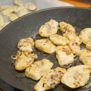 Kartoffelravioli mit Hackfleisch