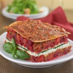 Rote-Bete-Lasagne