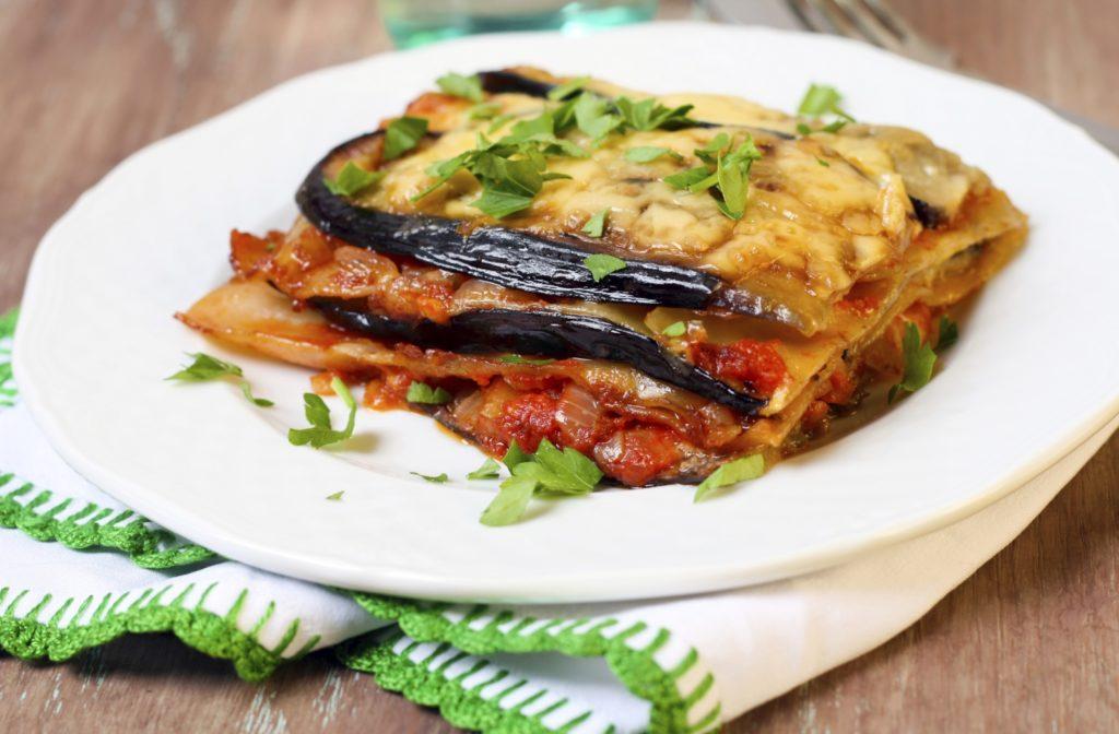 Vegetarische Lasagne mit Zucchini