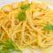 Aglio e olio - Knoblauch-Öl-Soße zu Spaghetti
