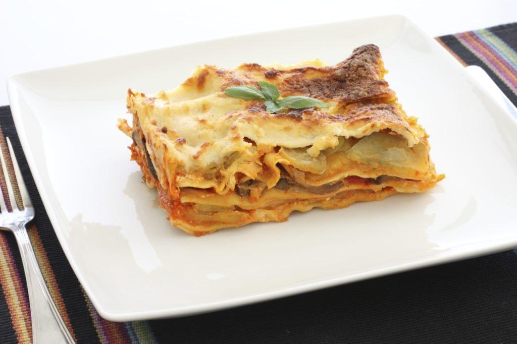 Auberginen-Lasagne-Auflauf
