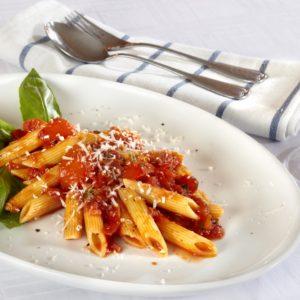 Fenchel-Tomatensoße zu Tortiglioni