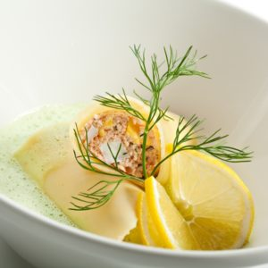 Lachs-Cannelloni