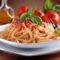 Pastasciutta – Spaghetti mit würziger Tomatensoße