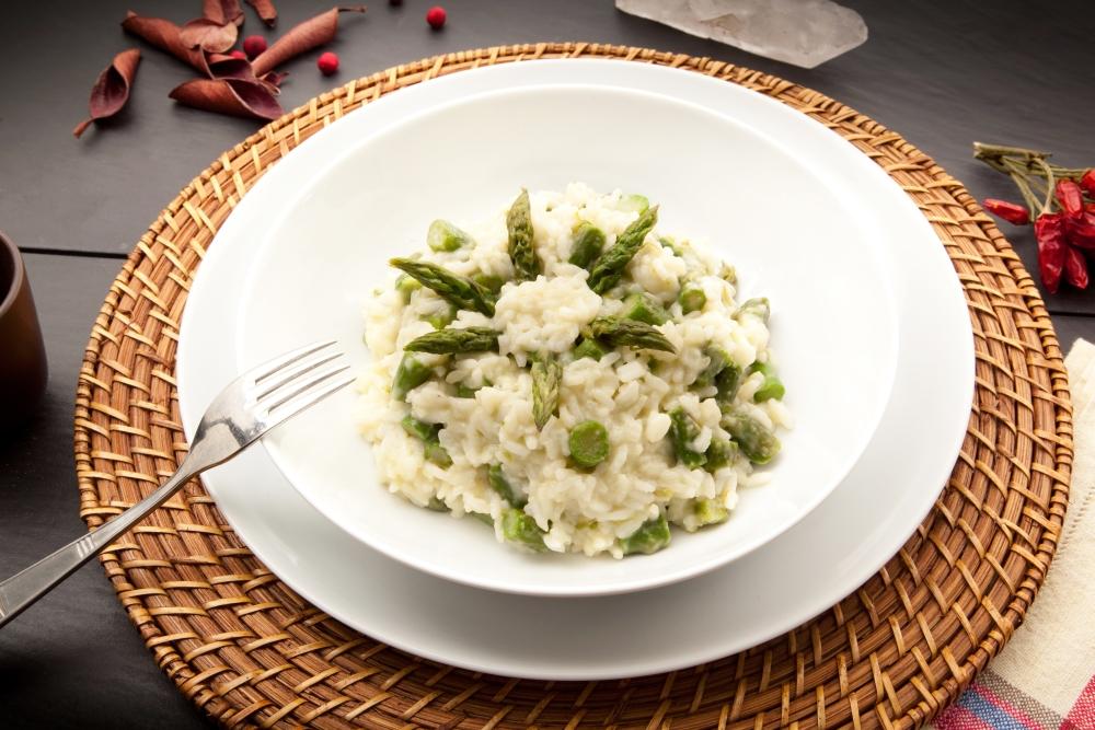 Spargelrisotto – Risotto con asparagi