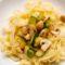 Tagliatelle mit Champignon-Zucchini-Soße