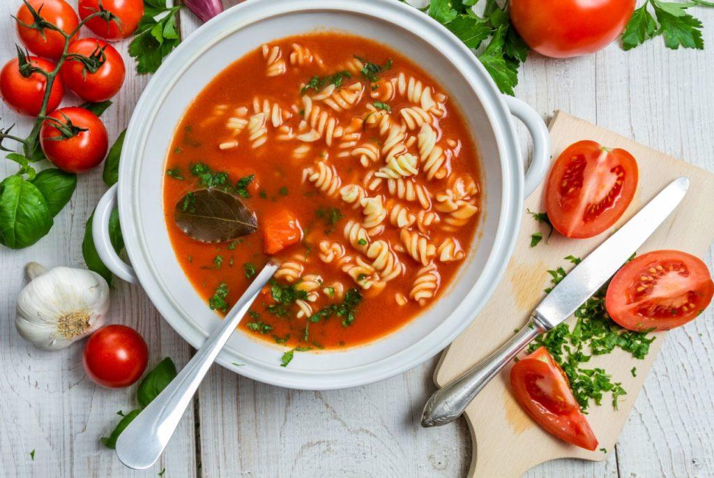 Tomatensuppe - Zuppa di pomodori