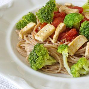 Vegetarische Vollkornspaghetti