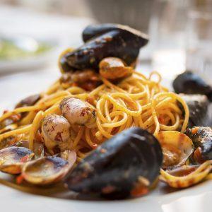 """Spaghetti """"Meeresrauschen"""""""