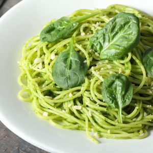 Grüner Pastatraum