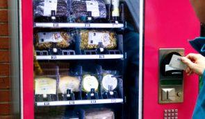 An der Uni Kassel kommt künftig Biopasta aus dem Automaten