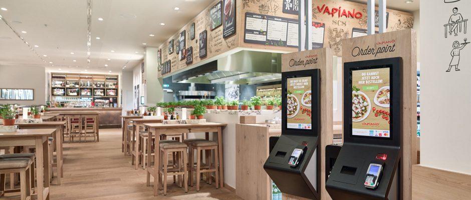 Das Restaurant in der Nähe des Checkpoint Charlie soll 147 Sitzplätze im Innenbereich und eine umlaufende Terrasse bekommen. Foto: Vapiano
