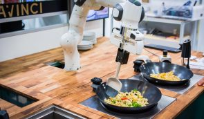 Pasta vom Roboter in unter drei Minuten