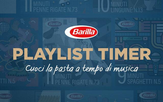 Perfekt gekochte Nudeln sind ab sofort kein Problem mehr: Grund dafür ist die Spotify-Playlist von Barilla.