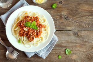 Spaghetti Bolognese ist das wohl bekannteste Nudelgericht in Deutschland.